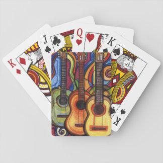 3つのギター トランプ