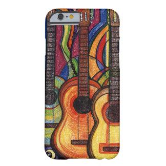 3つのギター BARELY THERE iPhone 6 ケース