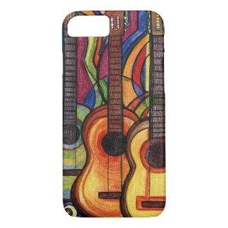 3つのギター iPhone 8/7ケース