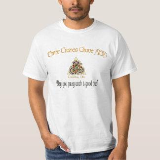 3つのクレーン果樹園のロゴ Tシャツ