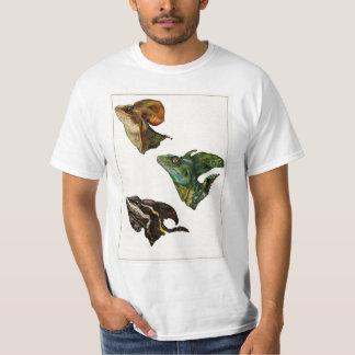 3つのバジリスクの頭部 Tシャツ