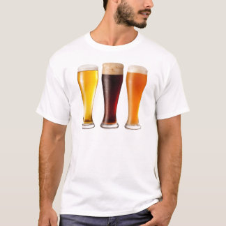 3つのビール Tシャツ
