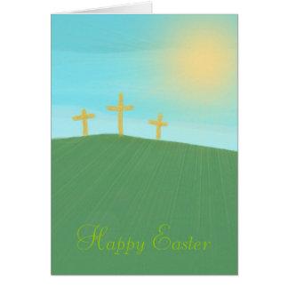 3つの十字 グリーティングカード