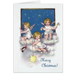 3つの小さい天使 カード