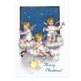 3つの小さい天使 ポストカード