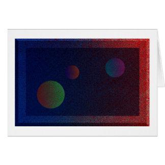 3つの惑星 カード