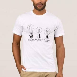 3つの明るい球根 Tシャツ