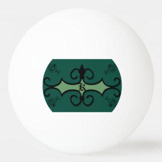 3つの星のピンポン球のIRONWORK SCROLLWORK 3 卓球ボール