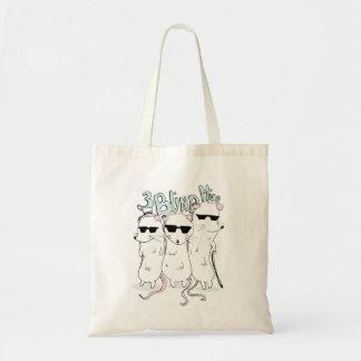 3つの盲目のネズミ トートバッグ