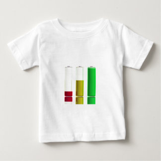 3つの電池 ベビーTシャツ