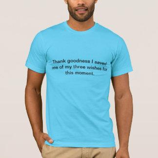 3つの願いのTシャツ Tシャツ