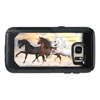 3つの馬の通勤者シリーズ場合、一突きの電話スタイル オッターボックスSamsung GALAXY S7ケース