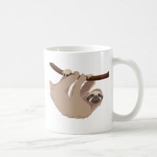 3つま先で触られた怠惰 コーヒーマグカップ