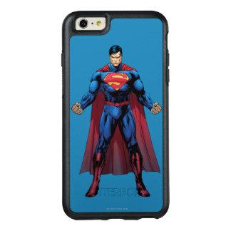 3つを立てているスーパーマン オッターボックスiPhone 6/6S PLUSケース
