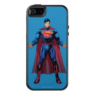 3つを立てているスーパーマン オッターボックスiPhone SE/5/5s ケース
