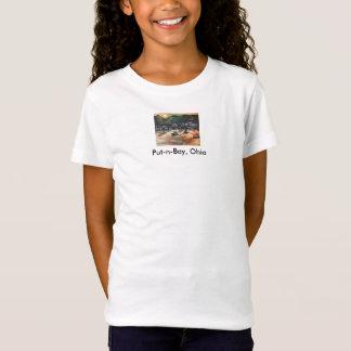 #3を絵を描く置n湾の島 tシャツ
