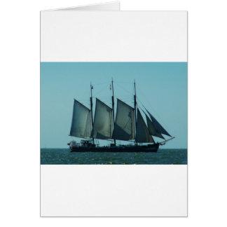 3マストを立てられていた帆船 カード