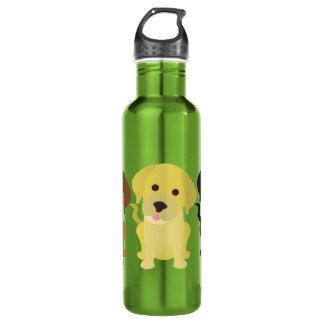 3ラブラドールの自由のボトル ウォーターボトル