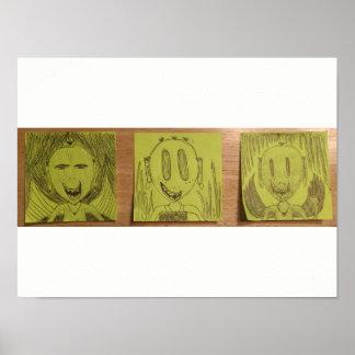 3人のエイリアン ポスター