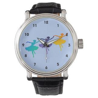 3人のダンサー 腕時計