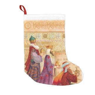 3人の王のキリスト教のストッキング スモールクリスマスストッキング