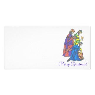 3人の王、メリークリスマス! カード