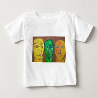 3人の賢者(ポートレートの表現主義) ベビーTシャツ