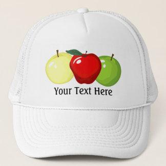 3個のりんごの帽子 キャップ