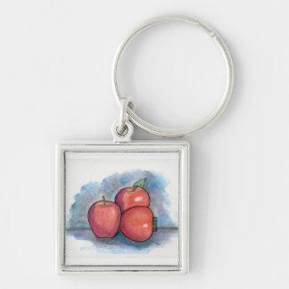3個のりんご キーホルダー