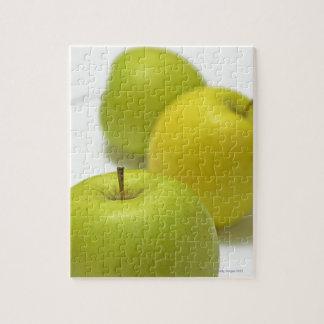 3個のりんご、クローズアップ ジグソーパズル