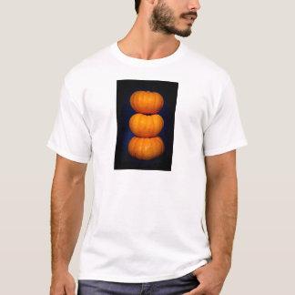 3個のカボチャ Tシャツ