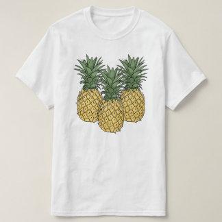 3個のパイナップル Tシャツ