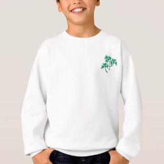 3匹のシャムロック スウェットシャツ