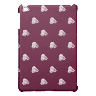 3匹のピンクのバラ。 花パターン iPad MINIケース