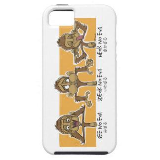 3匹の猿 iPhone SE/5/5s ケース