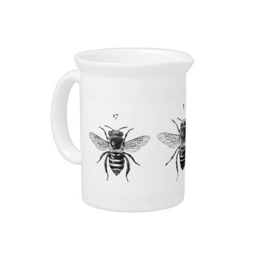3匹の蜂の水差し ピッチャー