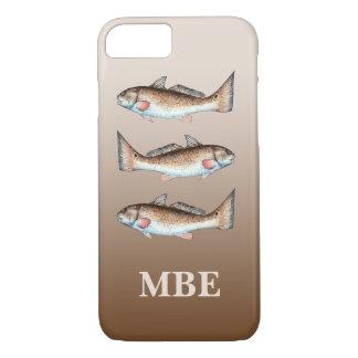 3匹のRedfish iPhone 8/7ケース
