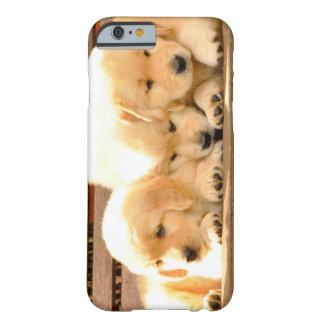 3子犬のiPhone6ケース Barely There iPhone 6 ケース