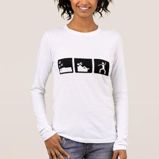 3小さい写真-人4 長袖Tシャツ