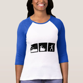 3小さい写真-人4 Tシャツ