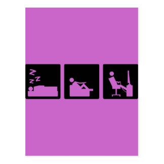 3小さい写真-人8 ポストカード