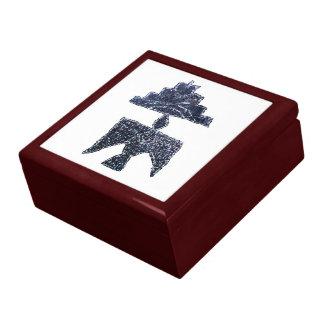 3川の鳥のイメージ5のギフト用の箱 ギフトボックス