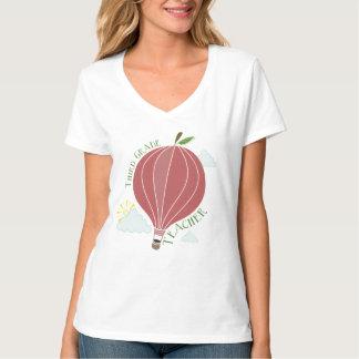 3年生の先生の熱気の気球Apple Tシャツ