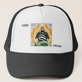 3忍者のトラック運転手の帽子 キャップ