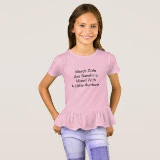 3月の誕生日 Tシャツ