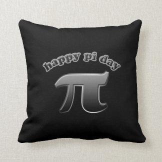 3月14日に数学のおたくのための幸せなPi日Piの記号 クッション