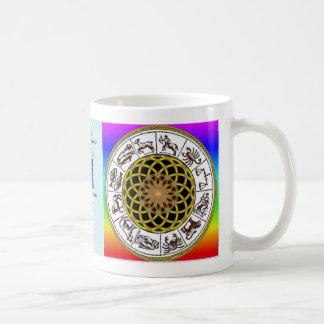3月31日- Decanの4月9日牡羊座レオマグ コーヒーマグカップ