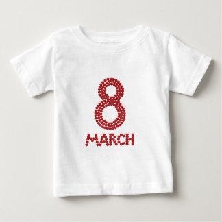 3月8日 ベビーTシャツ