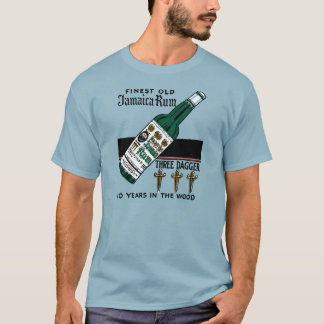 3本の短剣のラム酒 Tシャツ