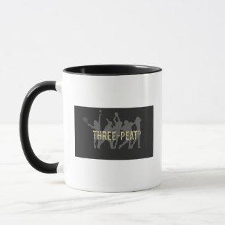 3泥炭の左利きのマグ マグカップ